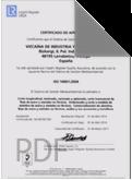 ISO 9001:2008 VINCO BARCELONA