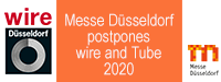 Messe Düsseldorf postpones Wire and Tube events to December 2020