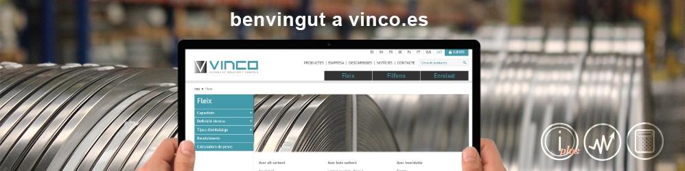 benvingut-a-vinco-website