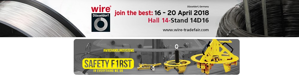 Wire 2018 Exhibition, the world's most important trade fair for the wire and cable industry.