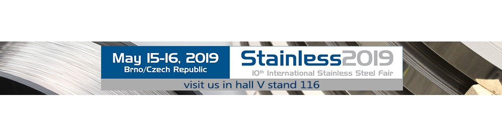 Stainless, International Stainless Steel Trade Fair, Brno 2019