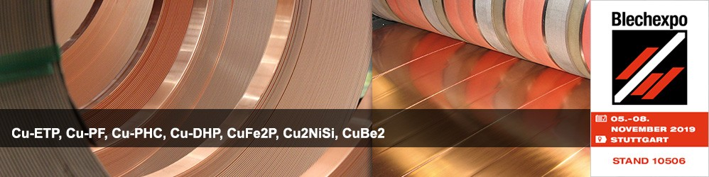 High-quality copper strip