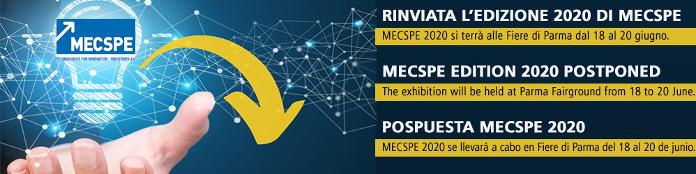 MECSPE EDITION 2020 POSTPONED