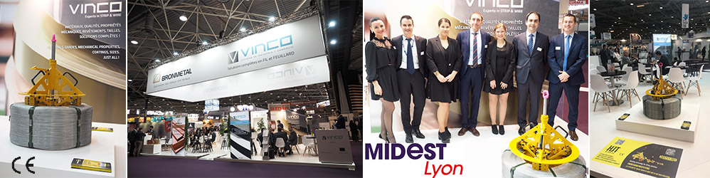 Presentación de HJT en MIDEST- Global Industrie- Lyon 2019